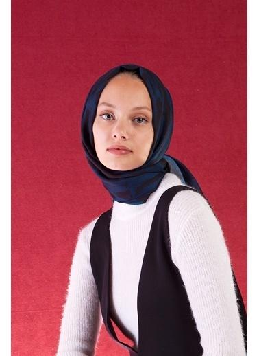 Akel Akel 152003002960111001479A 90 X 180 Cm Polyester Sandy Leo Sign Petrol Kadın Şal Petrol
